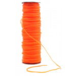 100 mtr. Springtouw orange transp. 4mm o