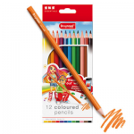 Bruynzeel 12 coloured pencils 7545K12B