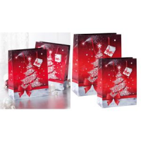 "Sigel Christmas gift bag ""Sparkling Tree"", small 4004360858512 Artikel vervallen"