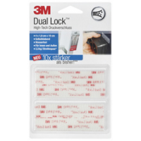3M Dual Lock Velcro power high tech ziplock 4046719620548