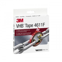 3M VHB Tape 4611F 19 mm x 3 m grijs 4046719675586