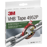 3M VHB tape 4952P 19 mm x 3 m wit 4046719907540