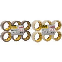 3M Scotch verpakkingstape Classic, 50 mm x 66 m, brown 8021684012716