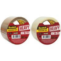 3M Scotch kleefband HEAVY, 50 mm x 50 m, brown 8021684012730