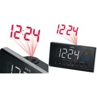 AEG FM PLL Clock Radio MRC 4141 LED display zwart 4015067006144