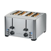 PROFESSIONAL COOK 4 slice toaster PC TA 1073 roestvrij staal 4006160107302