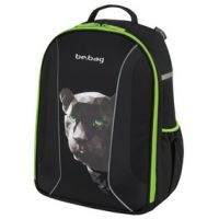 "Herlitz schoolrugzak be.bag Airgo ""Black Panther"" 4008110548784"