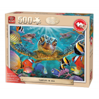 King 500 st. turtles in the sea 05534