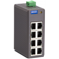 MOXA Unmanaged Industrial Ethernet Switch 8 Port EDS 208