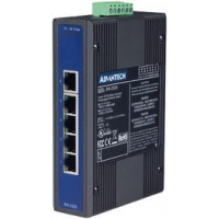 ADVANTECH Unmanaged Industrial Ethernet Switch, 5 Port