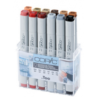Copic Classic set Architectuur 12 kleuren 4013695257099
