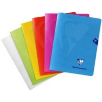 Cahier Clairefontaine piq?re Mimesys, 170 x 220 mm, séy?s, 3329683037514