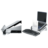 Fellowes Notebook Stand Plus Office zilver 43859504602