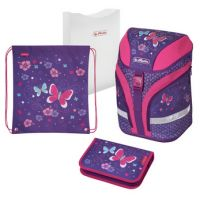 "Herlitz schoolrugzak Motion Plus ""Butterfly"", 4008110570785"