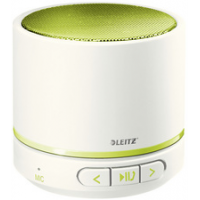 LEITZ Mini Bluetooth Speaker WOW Duo Kleur wit 4002432113422