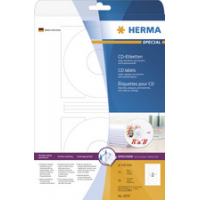 HERMA CD DVD labels SPECIAL Diameter 116 mm Maxi 4008705044608