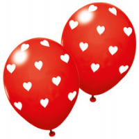 "SUSY CARD ballonnen ""Sweetheart"", rood, 4050498233462"