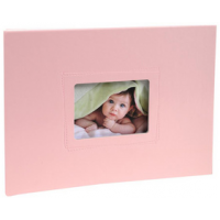 EXACOMPTA Babyalbum Softissimo 285 x 220 mm roze 3130630113386