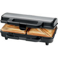PROFESSIONAL COOK sandwich toaster PC ST 1092 roestvrij staal zwart 4006160010923