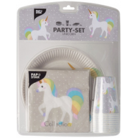Papstar Party Set Unicorn 40 stuks 4002911382448