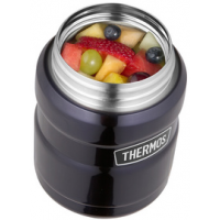 THERMOS Voedselcontainer RVS KING 0,71 liter rood 5010576927712