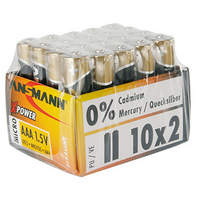 ANSMANN alkaline batterij X Power Baby C 20 display 4013674003976