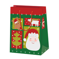 "SUSY CARD Christmas gift bag ""Nordic Xmas"", small"