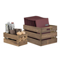 Securit Holzbox Tabel Caddy, (B) x 210 (T) x 330 (H) 242 mm