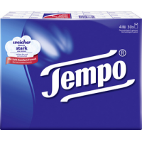 Tempo zakdoeken classic, 4-laags, wit, 30 Pack