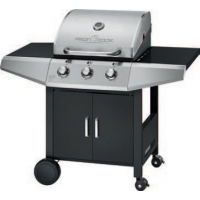 PROFESSIONAL COOK Gas Grill PC GG 1057 zilver 4006160105711