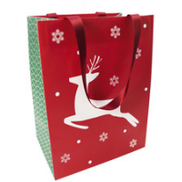 Clairefontaine Christmas gift bag Tradi Chic medium