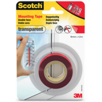 3M Scotch dubbelzijdige montage tape 19 mm x 5 m 4046719732340