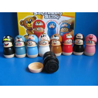 24 stempel funny face in display 86187