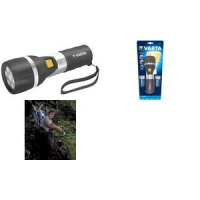 "VARTA Flashlight ""LED Day Light 2D"", incl. 2 x D Mono 4008496677719"