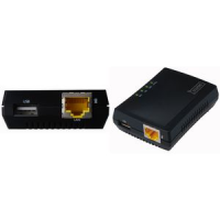 DIGITUS Mini Multifunctionele Print Server 1 x USB 2 0 4016032292913 sc11003518