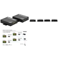 DIGITUS HDMI over IP extender set bereik tot 100 m 4016032353768