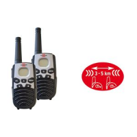 Brennenstuhl PMR radio set Walkie Talkie TRX 3500 4007123632725