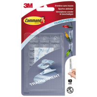 3M Command decoratieve clip plastic transparant 4046711601286