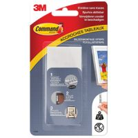 3M Command Picture montage strips, maat: L, wit 4046719434992
