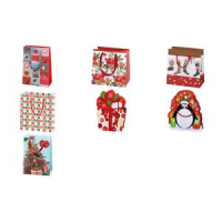 "Susy Card Christmas gift bag ""X-mas kous"", small 4050498146434"