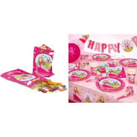 "Susy Card party bag ""Princess"", gemaakt van plastic 4050498208071"