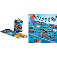 "Susy Card party bag ""Super Racer"", gemaakt van plastic 4050498208101"