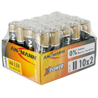 ANSMANN alkaline batterij X Power AA 20 display 4013674004287
