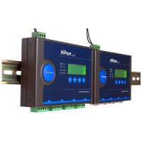 MOXA Industrial Ethernet Serial Device Server, 4-poorts