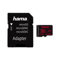 Hama Memory Card Micro Secure Digital HC klasse 3 64 GB 4047443246837