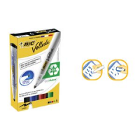 BIC whiteboard marker Velleda 1701 Ecolutions 4 Case 3086120017040