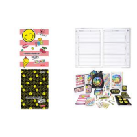 Herlitz Hausaufgabenheft Smiley World Girly A5 4008110536361