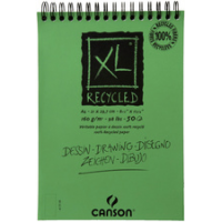 Canson schets en studie block XL RECYCLED A5 3148950018717