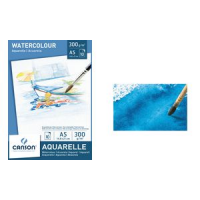 Canson waterverfdocument blok A5 300 g sq m witte 3148950057884