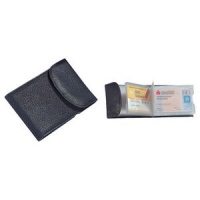 Alassio croodit en business card case, leer, zwart 4021068420025